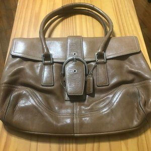 Coach handbag No F3S-9550 Brown #lot1001